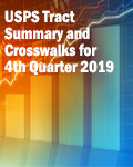 USPS Tract Summary and Crosswalks for 4th Quarter 2019