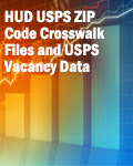 HUD USPS ZIP Code Crosswalk Files and USPS Vacancy Data for 1st Quarter 2019