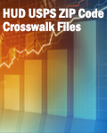 HUD USPS ZIP Code Crosswalk Files: Quarter 1, 2018