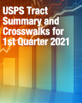 USPS Tract Summary and Crosswalks for 1st Quarter 2021