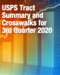 USPS Tract Summary and Crosswalks for 3rd Quarter 2020
