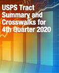 USPS Tract Summary and Crosswalks for 4th Quarter 2020