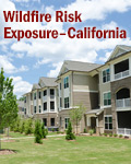 Wildfire Risk Exposure - California