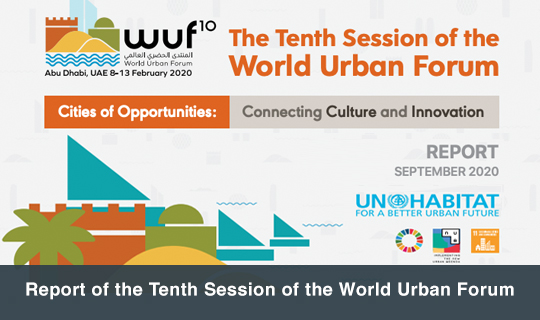 Report of the Tenth Session of the World Urban Forum