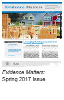 Evidence Matters: Spring 2017 Issue