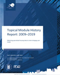 Topical Module History Report: 2009–2019