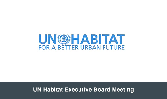 UN Habitat Executive Board Meeting