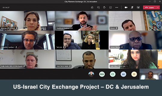 US-Israel City Exchange Project – DC & Jerusalem