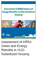 Assessment of ARRA Green and Energy Retrofits in HUD-Subsidized Housing