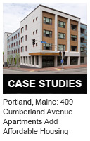 Portland, Maine: 409 Cumberland Avenue Apartments Add Affordable Housing and Promote Sustainable Food and Healthy Living