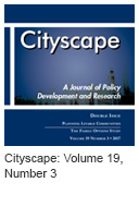 Cityscape: Volume 19, Number 3, 2017 issue icon