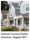 National Housing Market Indicator: August 2017