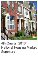 4th Quarter 2016 National Housing Market Summary Icon