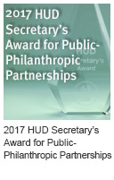 2017 HUD Secretary's Award for Public-Philanthropic Partnerships