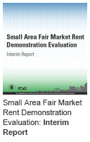 Small Area Fair Market Rent Demonstration Evaluation: Interim Report