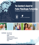 Call For Entries: 2019 Secretary's Awards for Public-Philanthropic Partnerships Deadline: Monday, January 14, 2019