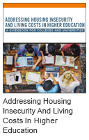 Addressing Housing Insecurity and Living Costs in Higher Education