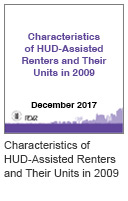 Characteristics of HUD-Assisted Renters and Their Units in 2009