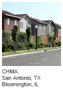 CHMA: San Antonio, TX Bloomington, IL