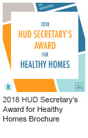2018 HUD secretary's Award for Healthy Homes Icon