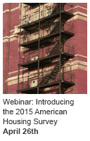 Webinar: Introducing the 2015 American Housing Survey