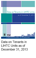 Data on Tenants in LIHTC Units as of December 31, 2013