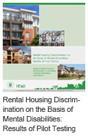 Rental Housing Discrimination on the Basis of Mental Disabilities: Results of Pilot Testing