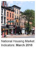 National Housing Market Indicator: March 2018