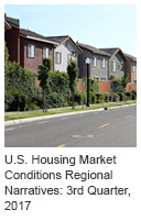 U.S. Housing Market Conditions Regional Narratives: 3rd Quarter, 2017