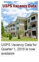 USPS Vacancy Data for Quarter 1, 2018 is now available