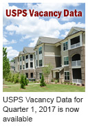 USPS Vacancy Data for Quarter 1, 2017 is now available
