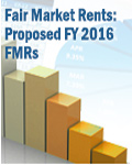 Fair Market Rents: Proposed FY 2016 FMRs