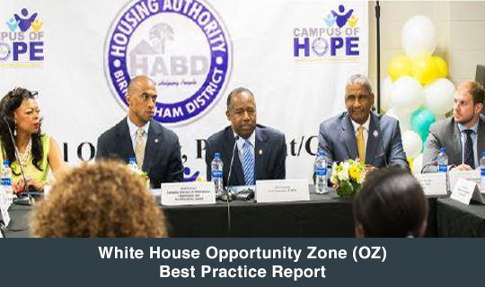 White House Opportunity Zone (OZ) Best Practice Report