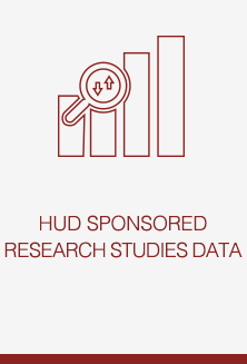 HUD SPONSORED RESEARCH STUDIES DATA