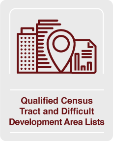 Qualified Census Tract and Difficult Development Area Lists